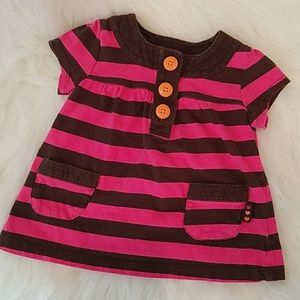 Stripe Dress with Buttons by Carter's